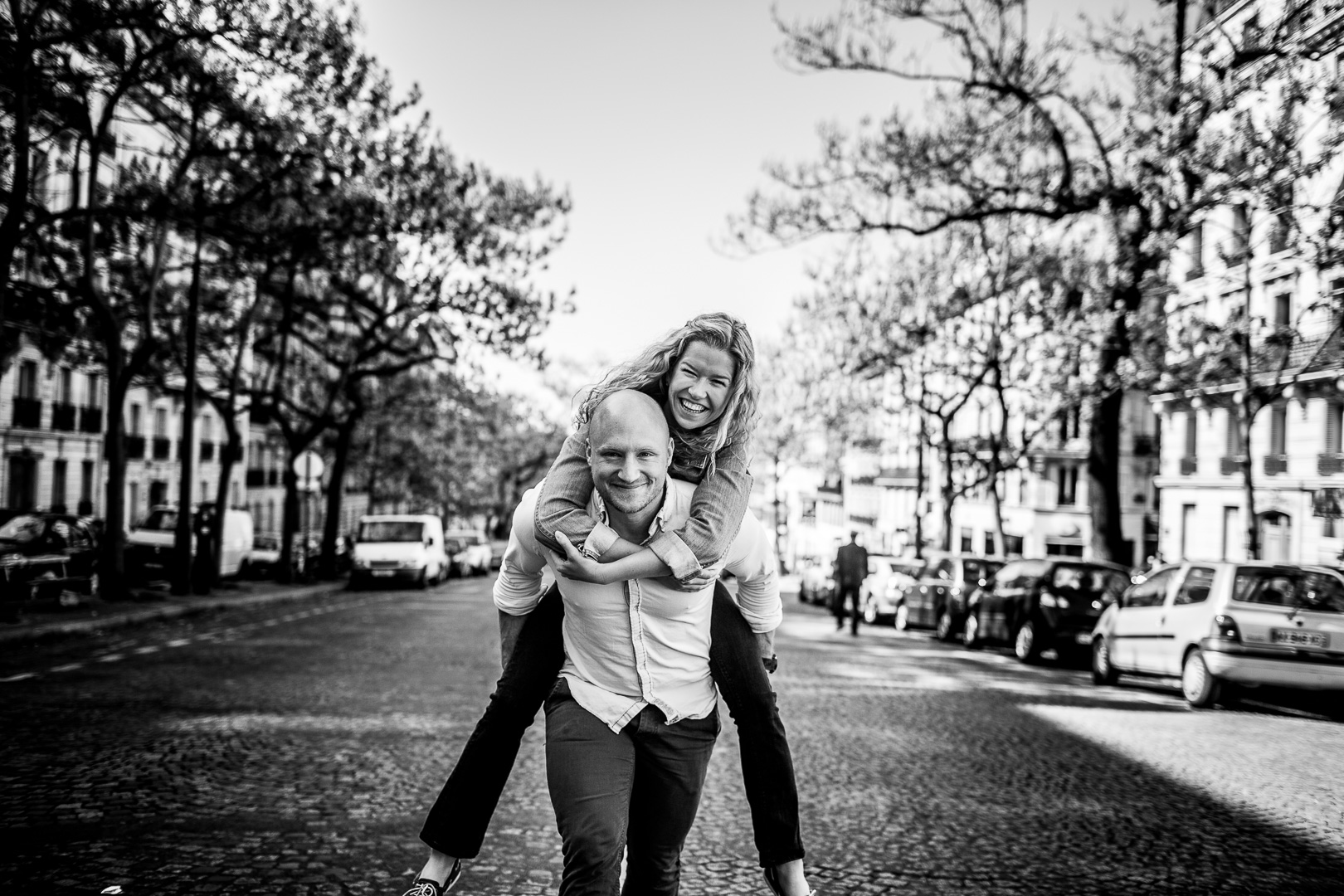 Paarfotos in Paris - Engagementshooting - Liebe