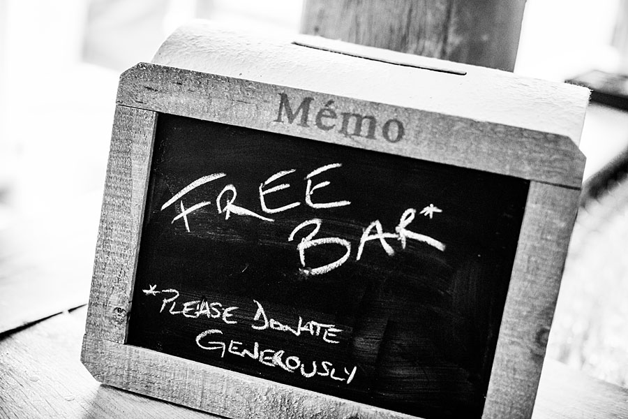 Free Bar - Please donate Generously