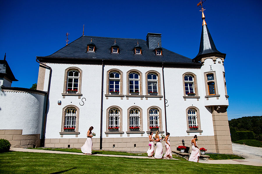 Heiraten in Schloss in Luxemburg