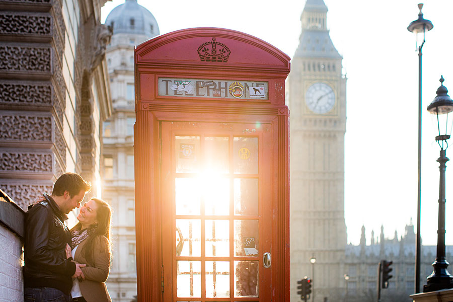 Engagementshooting London romantische Paarfotos