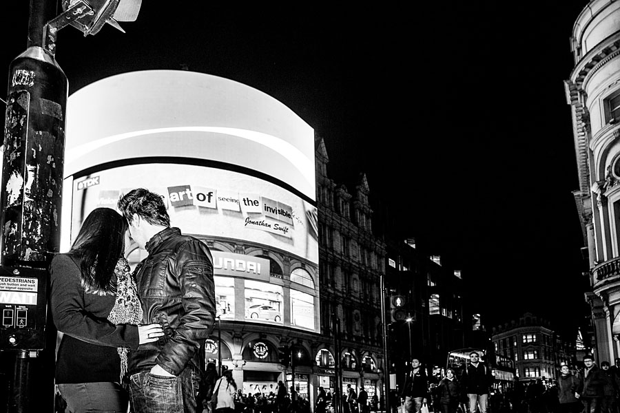 London bei Nacht - Romantisch am Piccadilly Circus