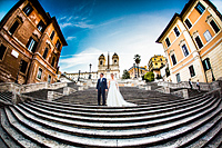 Hochzeitsbilder romantisch in Rom