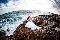 Hochzeitsbild auf Mallorca am Strand