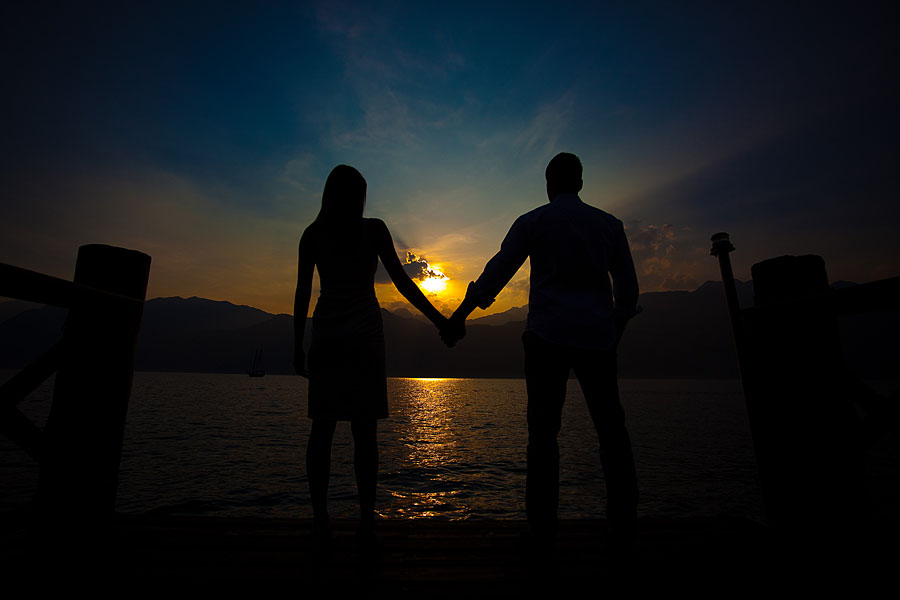 Romantisch heiraten am Gardasee